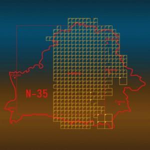 Старые довоенные топографические карты масштаба 1:50000 Беларуси