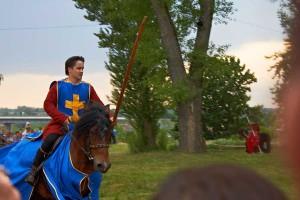 конное показательное состязание