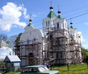 Бешенковичи. Ильинская церковь второй половины XIX в.