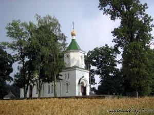 Церковь в честь святого Николая Чудотворца в деревне Лебеда