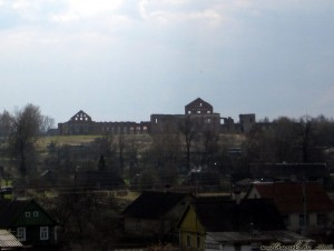 Посетил дворцовый комплекс Сапегов в Ружанах