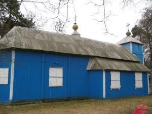Деревянная церковь деревня Волпа