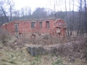 Остатки мельницы рядом с деревней Лавские (продолжение)