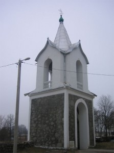 Колокольня около церкви св. Михаила Архангела
