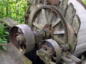 Что осталось от мельницы в деревне Трабы