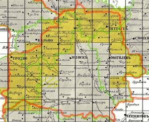 Старые карты Беларуси (3-х верстовки)