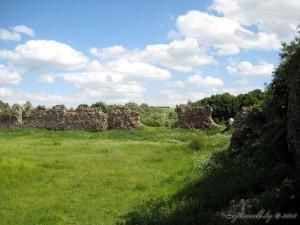 Руіны сценаў Крэўскага замка