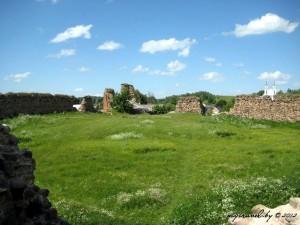 Унутраны двор Крэўскага замка