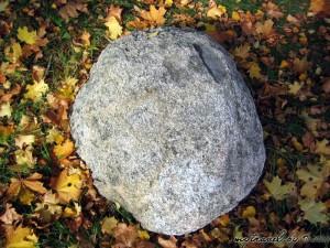 «Камень – следовик» в деревне Бобры