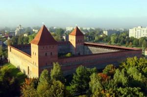 Лидский замок - пример реконструкции