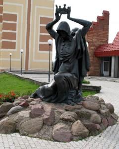 Памятник Рогнеде и Изяславу