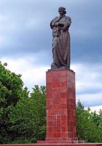 Полоцк. Памятник Франциску Скорине