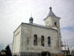 Православная часовня около Воложина