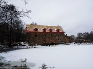 Реконструкция водяной мельницы в агрогородке Дворище