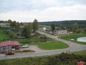 Вид на окрестности д. Райцы