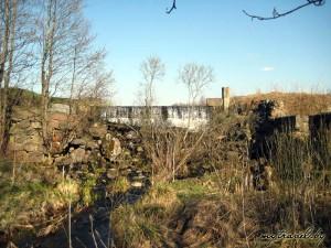 Бывшая мельница около деревни Биланцы