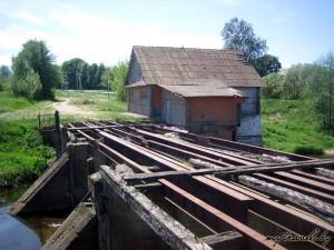 Водяная мельница в деревне Крутиловичи