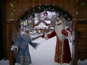 Беларуский Дед Мороз и Снегурочка