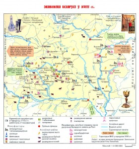 Эканомiка Беларусi у XVIII ст.