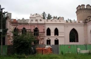 рэстаўрацыя палаца у Косава