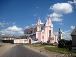 Костел святого Петра и Павла в Борунах