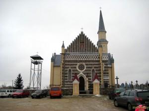 Костел святых Петра и Павла в д.Рожанка