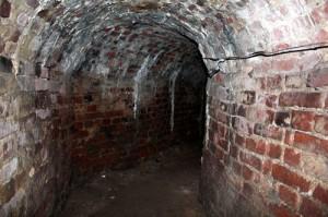 Внутри подземелья замка