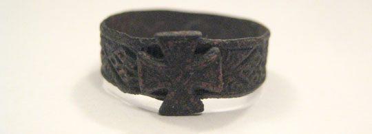 Кольцо содата кайзеровской армии периода первой Мировой войны