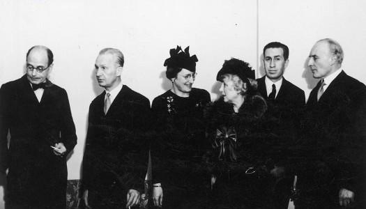 Сапега (первый с права), 1936 г.
