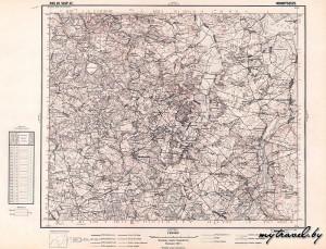 Старые карты WIG