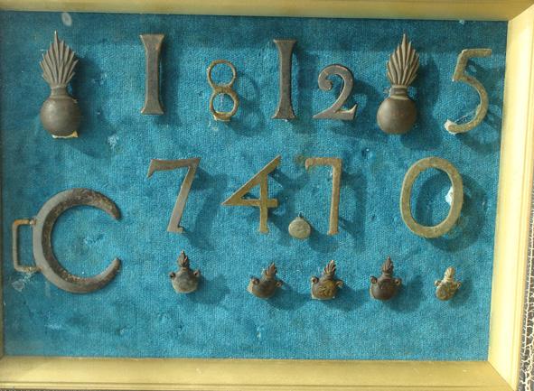 """Выставка """"1812 год в артефактах"""" история путешествий."""