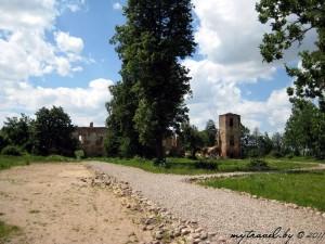 Замок Сапег в Гольшанах