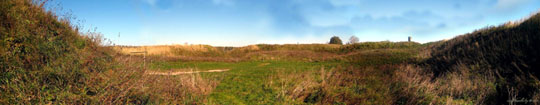Попытка сделать панорамную фотографию замка